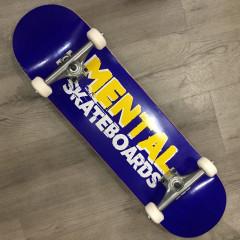 "Скейтборд Mental Skateboards Blue 8.375"""